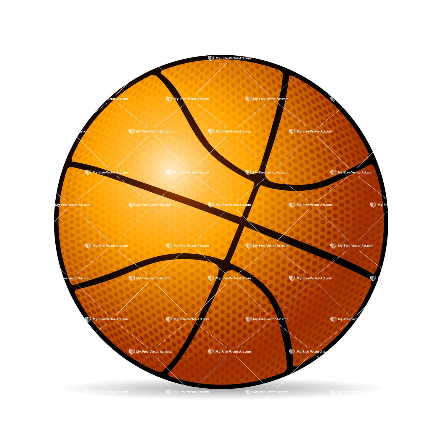 Basketball vector wwwimgkidcom the image kid has it for Free basketball vector